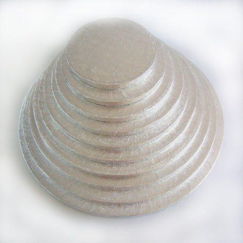 Kageplade, rund, 10 mm tyk