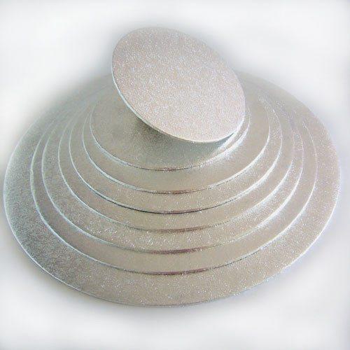 Kageplade, rund, 4 mm tyk