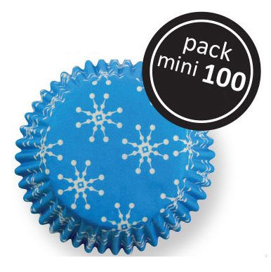 Mini muffinsforme, snefnug, Wilton