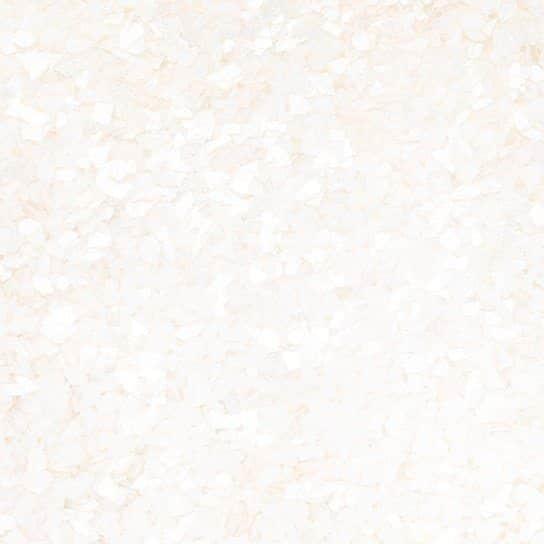 Spiseligt glimmer hvid