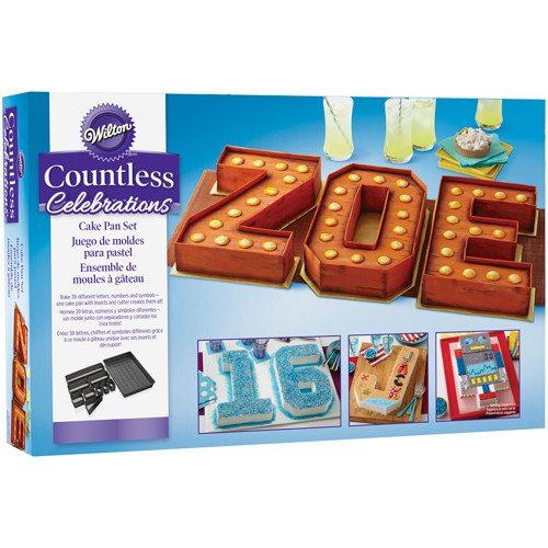 Bageform til tal og bogstaver