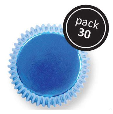Muffinsforme blå folie