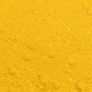 Spiselig pulverfarve citrongul
