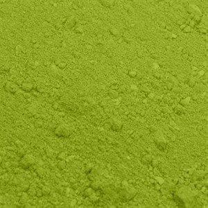 Spiselig pulverfarve lysegrøn