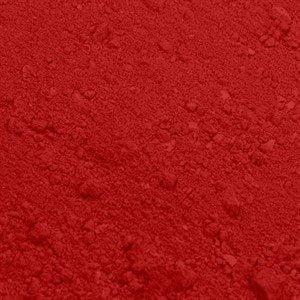Spiselig pulverfarve rød