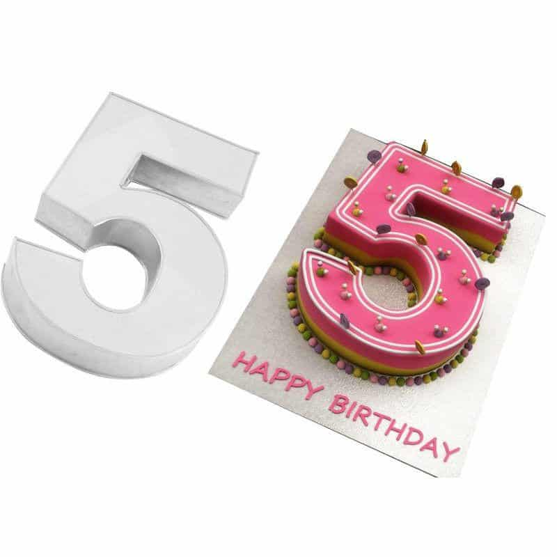 Number Cake / Alphabet Cake