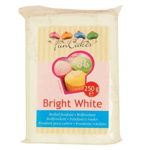 Funcakes fondant, hvid, 250g