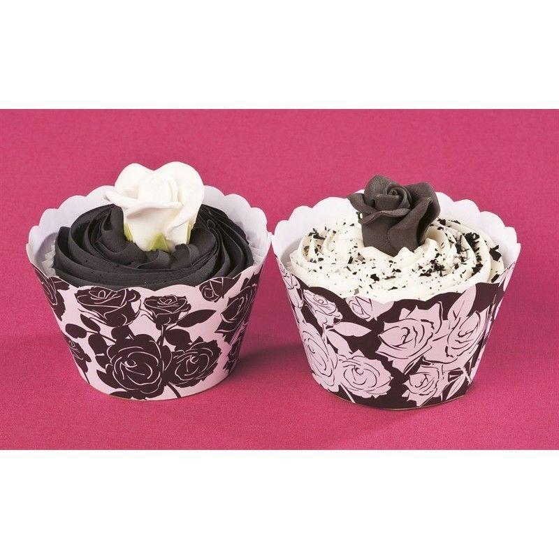 Cupcake Wraps med roser