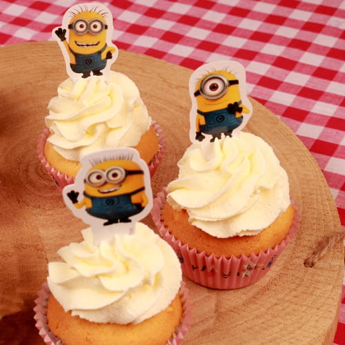Kage toppere med Minions