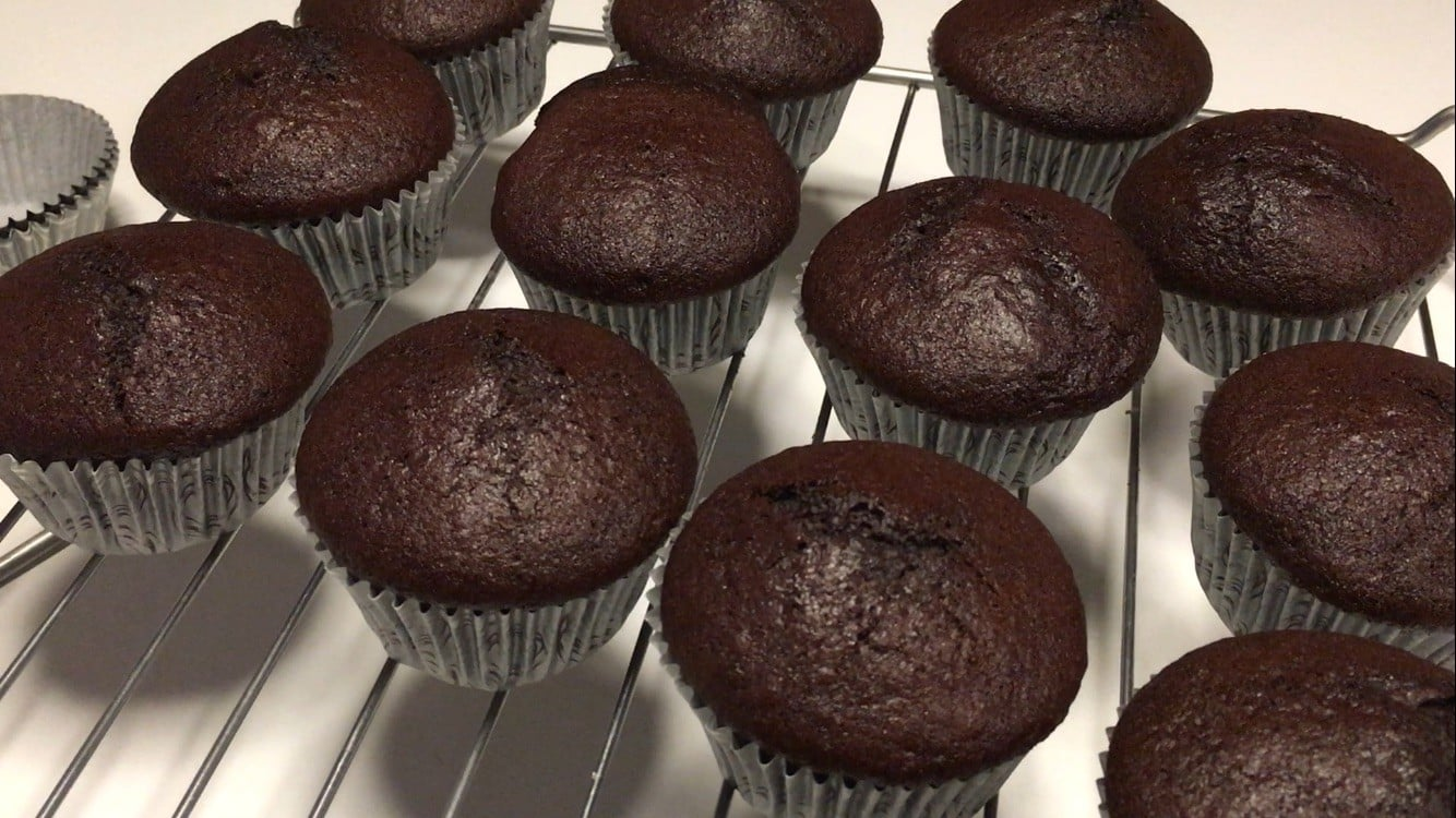 Chokoladekage uden aeg