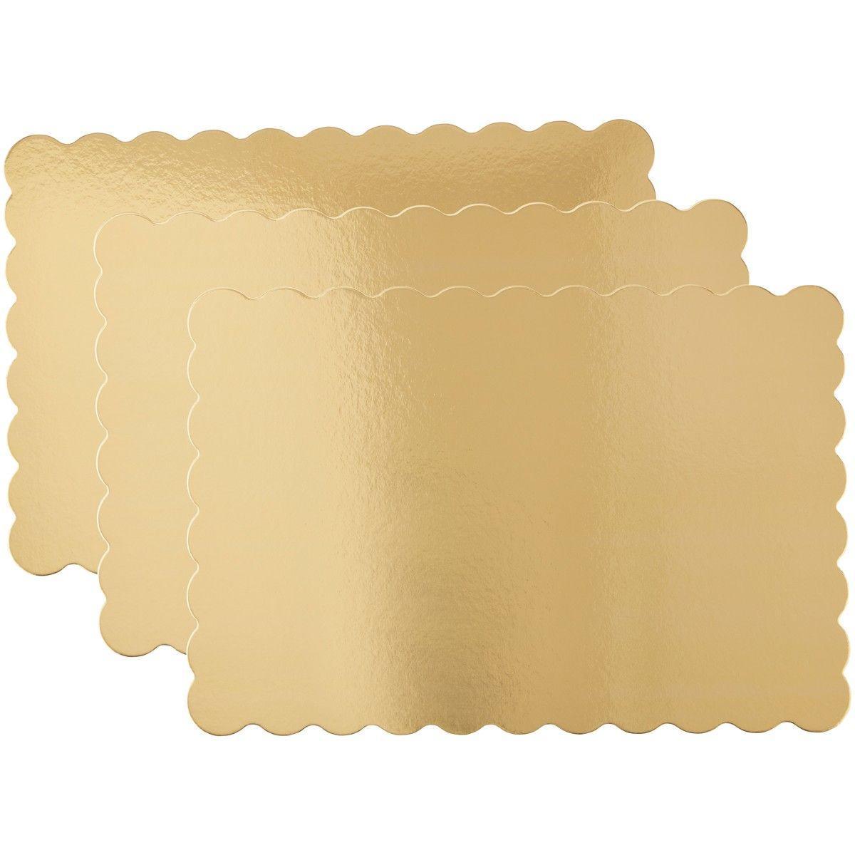 Guld kageplader