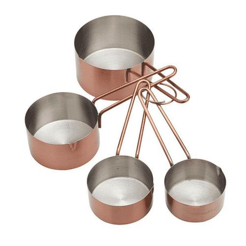 Maaleskeer i kobber til cups