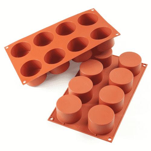 Silikoneform - Cylinder