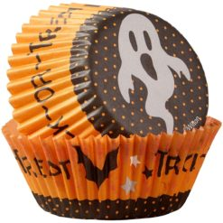 Halloween muffinsforme - Trick og Treat Ghost