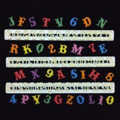 Udstikker til bogstaver og tal - CARNIVAL