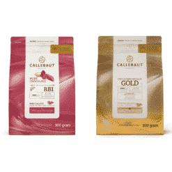 Callebaut Gold og Callebaut Ruby