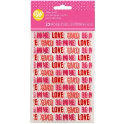 Mini poser - Love, 20 stk.