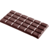 CW Chokoladeform til 3 store chokoladeplader
