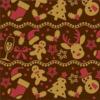 CW Chokolade transfersheet med julemotiver 30 x 40 cm