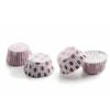 Ibili Konfektforme - rosa-hvide, 36 stk