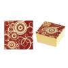 Pavoni Transfer sheet med cirkler - Ruby Red