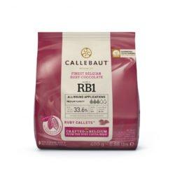 Callebaut Ruby - Smuk lyseroed chokolade med frugtsmag, 400g